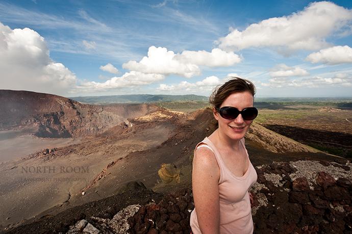 Claire @ Masaya Volcano